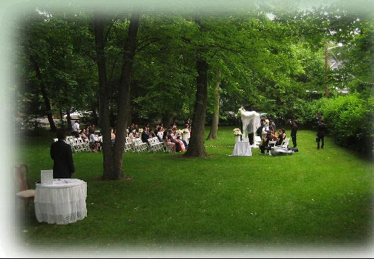 Small Outdoor Affordable Nj Nyc Wedding Ceremony Photos2